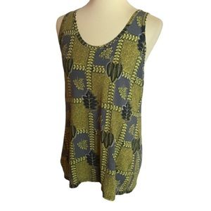 Country road racer back tank top